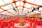 Transparent Roof Clear Span Tent Glass Walls For Wedding / Party