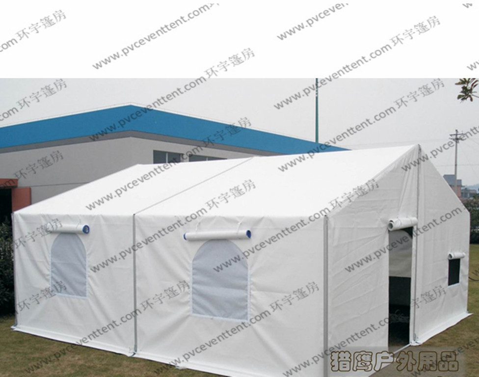 Portable 6 Meters PVC Tents with Rolling Door